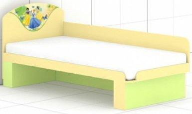 Кровать с быльцем L-26/27 Принцесса