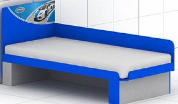 Кровать с быльцем L-30/31 Полиция