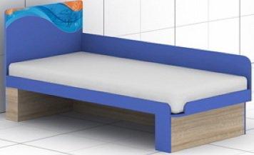 Кровать c быльцем L-30/31 Индиго