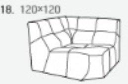 Модуль 18 к диван у Бостон