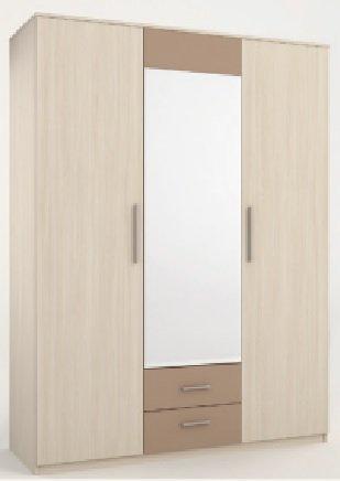 Шкаф 3 двери Сандра