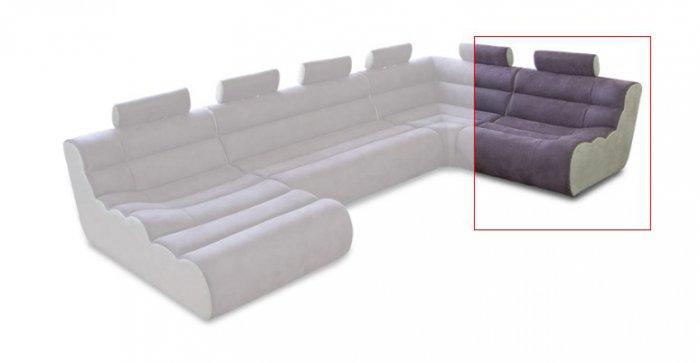 Модуль 1,2 к кожаному дивану Мегалайф