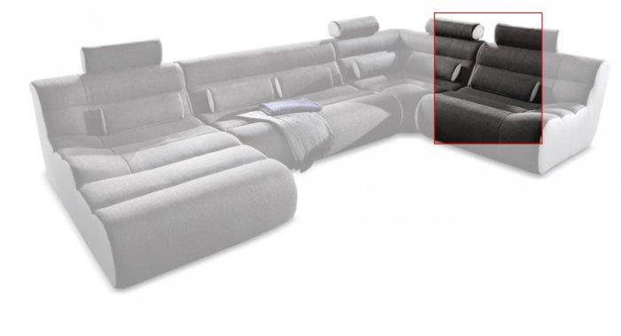 Модуль 3 к кожаному дивану Мегалайф