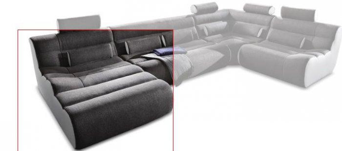 Модуль 4,5 к кожаному дивану Мегалайф