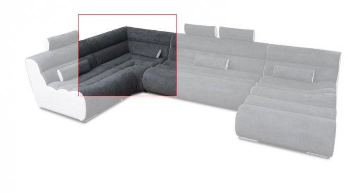 Модуль 11 к кожаному дивану Мегалайф