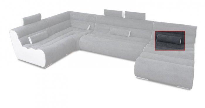 Модуль 14 (валик) к кожаному дивану Мегалайф
