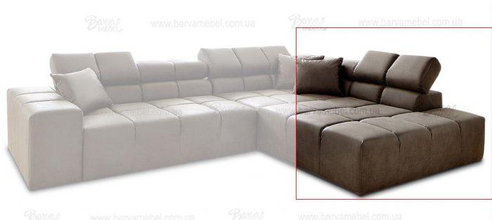 Модуль 3,4 к кожаному дивану Мегамакс