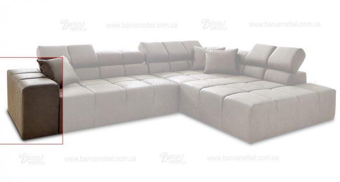 Модуль 9,10 (подлокотник) к кожаному дивану Мегамакс