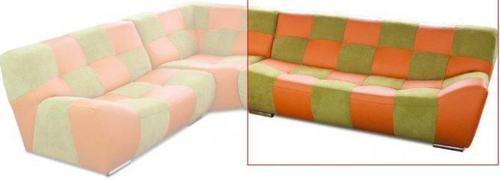 Модуль 3,4 к кожаному дивану Бостон