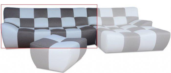 Модуль 7,8 к кожаному дивану Бостон