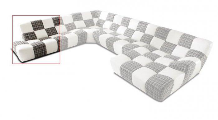 Модуль 11,12 к кожаному дивану Бостон