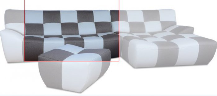 Модуль 15 к кожаному дивану Бостон