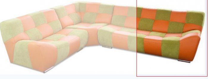 Модуль 16 к кожаному дивану Бостон