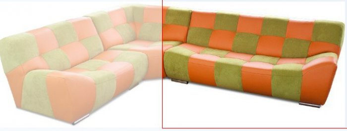Модуль 22 к кожаному дивану Бостон