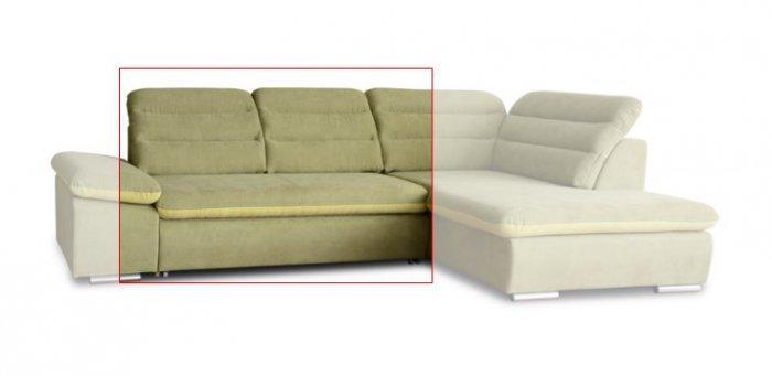 Модуль 3 к кожаному модульному дивану Оливер
