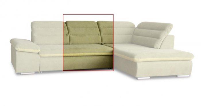 Модуль 4 к кожаному модульному дивану Оливер