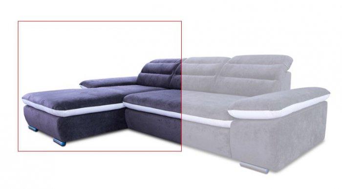 Модуль 5,6 к кожаному модульному дивану Оливер