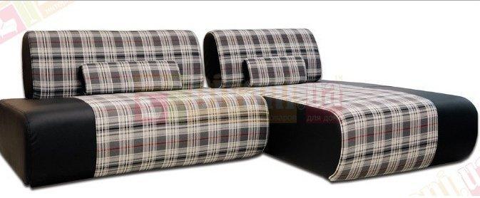 Кожаный угловой диван Мадена
