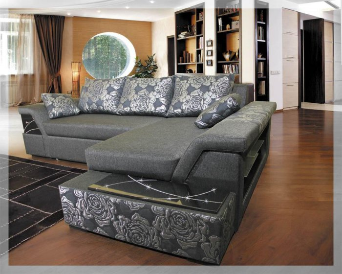 Угловой диван Лас-Вегас бриллиант