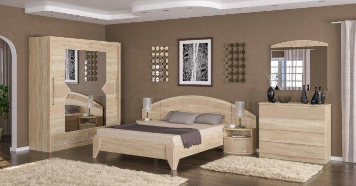 Модульная спальня Аляска
