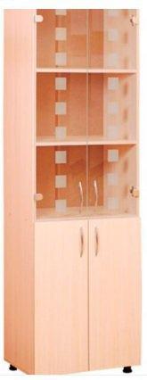 Шкаф для документов стеклянный ШДС