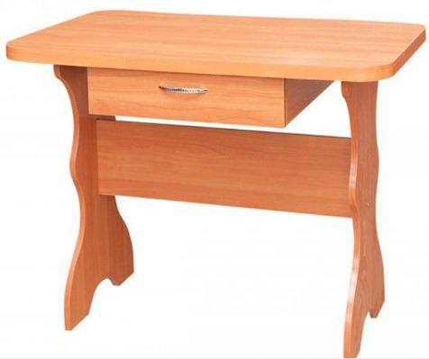 Стол кухонный простой с ящиком