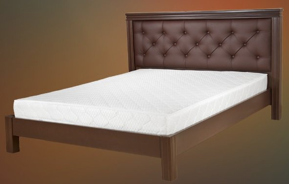 Двуспальная кровать Маргарита дерево c механизмом - 160x190-200см