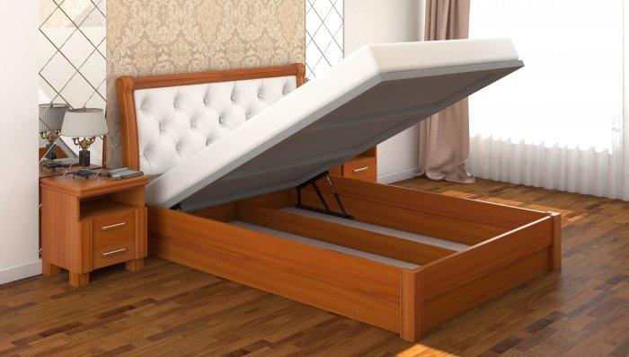 Полуторная кровать Милена ДСПЛ c механизмом - 140x200см