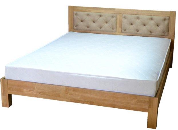 Полуторная кровать Диана дуб - 140x190-200см