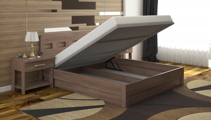 Двуспальная кровать Диана c механизмом - 160x200см