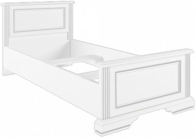Кровать 90 (каркас) Вайт
