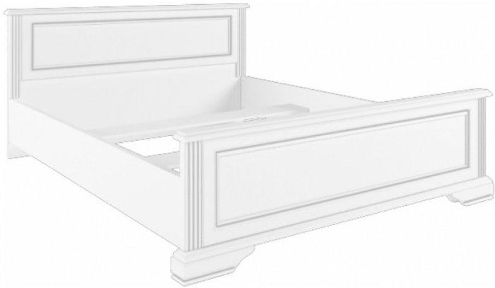 Кровать 160 (каркас) Вайт