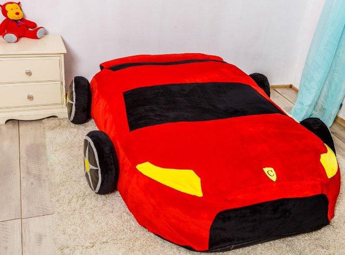 Кровать Машина модель S (спальное место ширина 90 см)