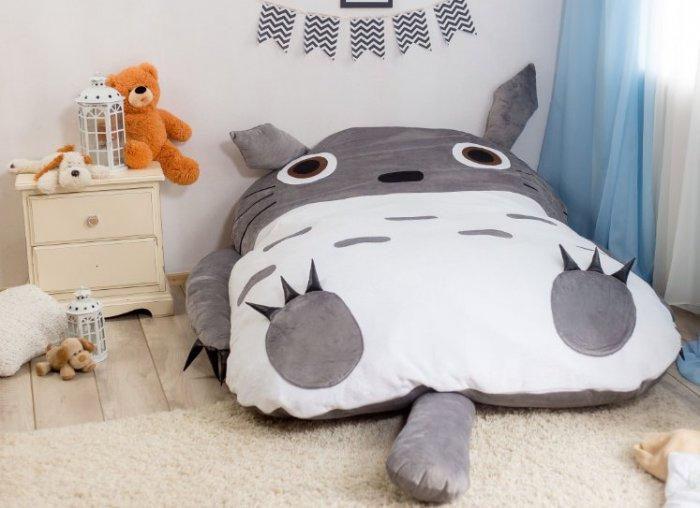 Кровать Тоторо модель S (спальное место ширина 90 см)