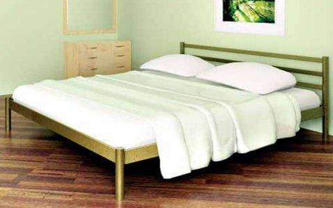 Односпальная кровать Fly 2 - 80 см с высокой спинкой у ног