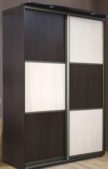 Шкаф-купе Бюджет Угловой Мебель-сич 1100-1500*1100-1500*2400