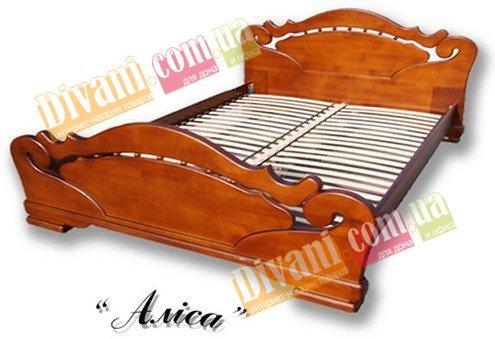 Полуторная кровать Алиса - 140x200см