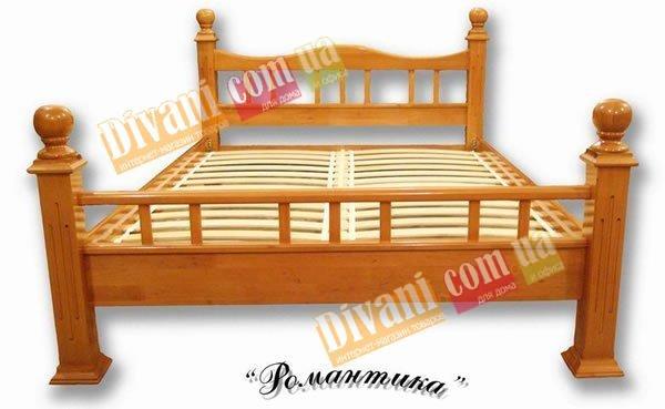 Полуторная кровать Романтика - 140x200см