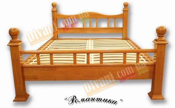 Двуспальная кровать Романтика - 160см