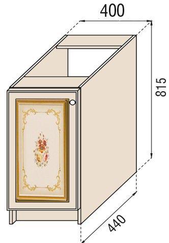 Модуль Н 40 низ кухня Парма