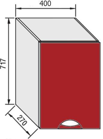 Модуль В 40 верх кухня Адель Люкс