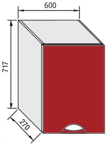 Модуль В 60 верх кухня Адель Люкс