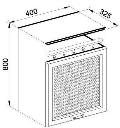Модуль В 40 верх кухня Роксана