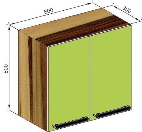 Модуль В 80 верх кухня Зара