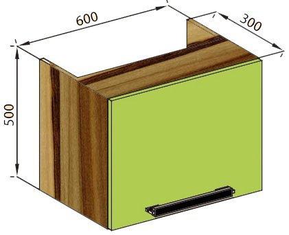 Модуль 60 окап верх кухня Зара
