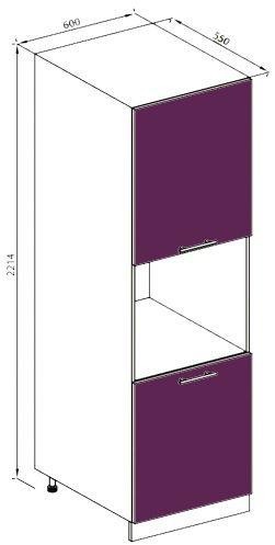 Модуль П 60 пенал кухня Вита