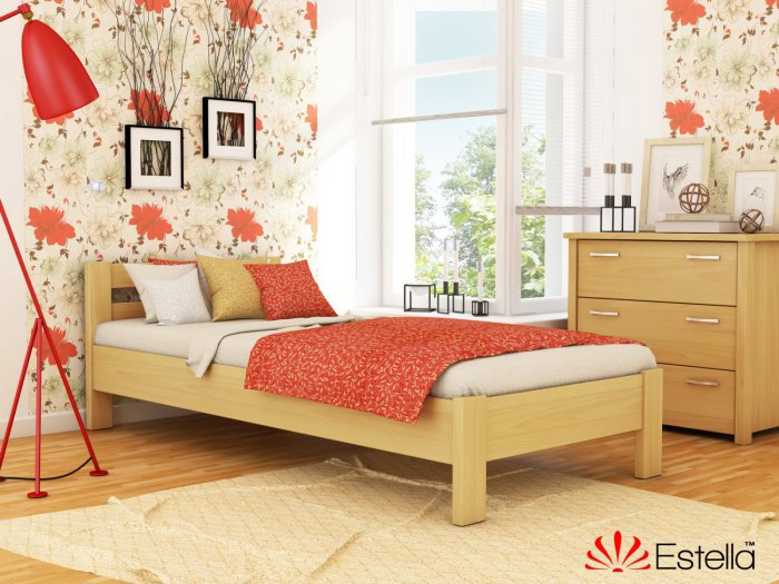 Односпальная кровать Рената - 90х190-200см