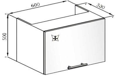 Модуль 60 окап верх кухня Вита