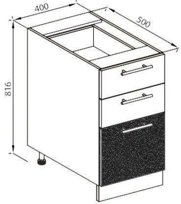 Модуль Н 40Ш низ кухня Нана