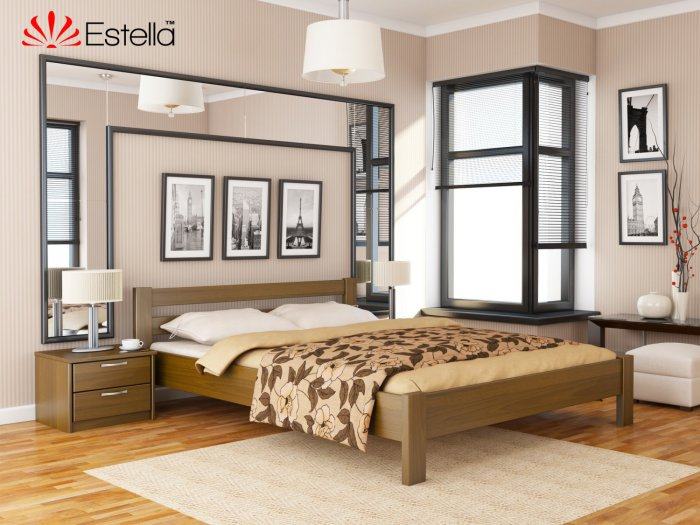 Двуспальная кровать Рената - 160х190-200см